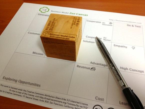 Business Model Zen Cube